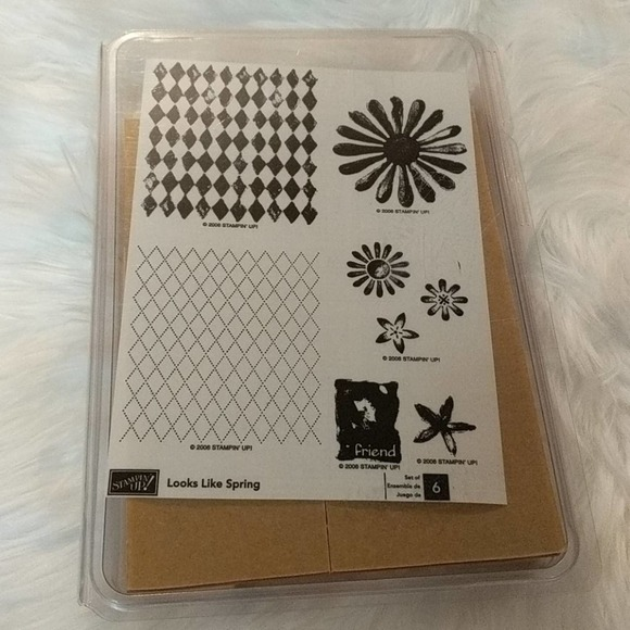 STAMPIN' UP! Looks Like Spring Wood Stamps NEW